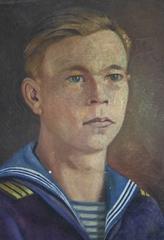 «Деда давно нет, но когда я, закрыв глаза, разговариваю с ним, то всегда вижу таким, как на портрете времен флотской юности»